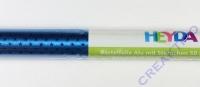 Bastelfolie Alu mit Sternchen blau