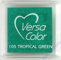 Versacolor Mini-Stempelkissen tropical green
