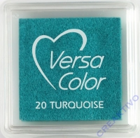 Versacolor Mini-Stempelkissen turquoise