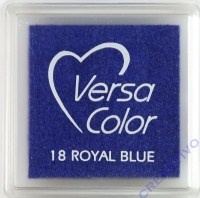 Versacolor Mini-Stempelkissen royal blue