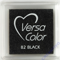 Versacolor Mini-Stempelkissen black