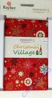 Christmas Village - Baumwollstoff Weihnachtszauber (Restbestand)
