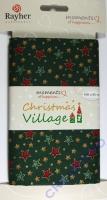 Christmas Village - Baumwollstoff Sternenzauber (Restbestand)