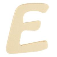 Holz-Buchstabe 6cm E