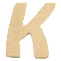 Holz-Buchstabe 6cm K