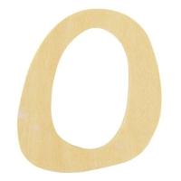 Holz-Buchstabe 6cm O