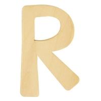 Holz-Buchstabe 6cm R