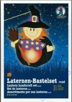 Laternen-Bastelset Hexe