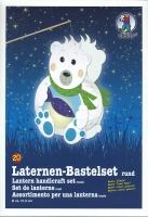 Laternen-Bastelset Eisbär