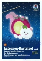 Laternen-Bastelset Kätzchen