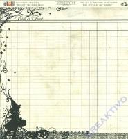 Scrapbooking Papier Moonlit (Restbestand)
