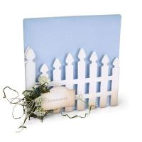 Sizzix ScoreBoards XL Die - Album, Garden Gate