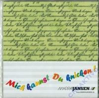 Faltblätter Transparentpapier 20x20cm Schriften (Restbestand)