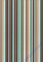 Transparentpapier A4 Linus braun türkis (Restbestand)
