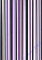 Transparentpapier A4 Linus violett/flieder/gold (Restbestand)
