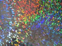 Holografie-Karton silber