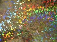 Holografie-Karton gold