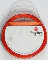 Rayher Satinband 7mm 10m orange