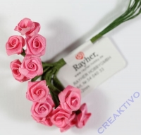 Satinröschen 12mm pink