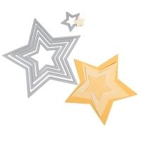 Rayher Sizzix Framelits Schablonenset - Sterne I