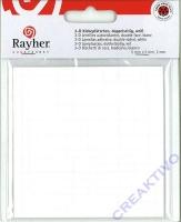 Rayher 3-D Klebeplättchen doppelseitig 5 x 5mm 2mm hoch