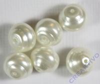 Renaissance-Perle, 10 mm weiß