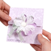 Sizzix Movers & Shapers L Die - Card, Flower Flip-its