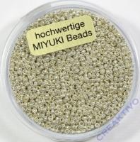 Jap. Miyuki Beads 1,5mm 6g silver