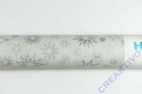 Transparentpapier Stardust  silber 50x70cm