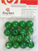 Rayher Holzperlen FSC, poliert 16mm 15St maigrün
