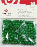 Rayher Holzperlen FSC, poliert 6mm 115St maigrün