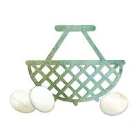 Sizzix Bigz Die - Egg & Wire Basket