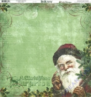 Scrapbooking Papier Father Christmas