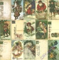 Scrapbooking Papier St. Nicholas - Sinterclass (Restbestand)