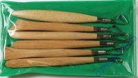 Modellierschlingen/Holz Set