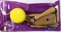 Töpferwerkzeug-Set (Zip-Bag)