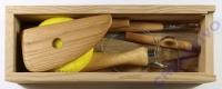 Töpferwerkzeug-Set (Holzbox)