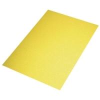 Crepla Platte 2mm 30x40cm Glitter gelb