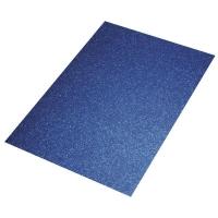 Crepla Platte 2mm 30x40cm Glitter mittelblau