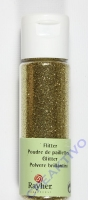 Rayher Flitter, ultrafein, gold, Fläschchen 20ml