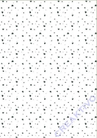 Transparentpapier A4 Small Hearts silber