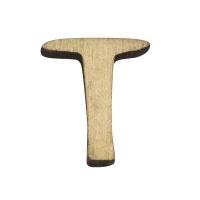 Holz-Buchstabe 2cm T