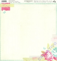 Scrapbooking Papier Flourish - Flower