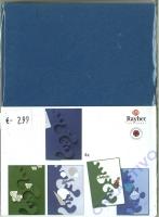Karen Marie Passepartout-Karte Avantgarde 4 Stück royalblau
