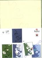 Karen Marie Passepartout-Karte Avantgarde 4 Stück elfenbein