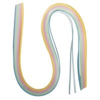 Papier für Quilling pastell 0,3cm