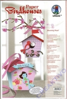 Paper Birdhouses Blooming Rose (Restbestand)