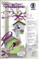 Paper Birdhouses Shabby Chic (Restbestand)