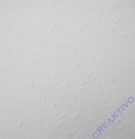 Bastelkarton Roma geprägt DIN A4 weiß