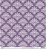 Scrapbooking Papier Violet Crush - Musk (Restbestand)